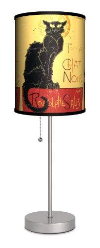 Dcor Art - Chat Noir Sport Silver Lamp (Chat Light)