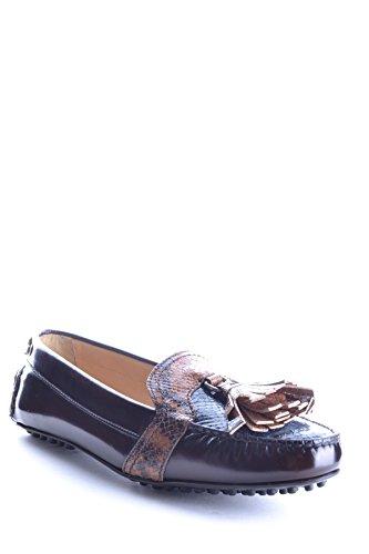 Car Shoe Mujer MCBI063012O Multicolor Cuero Mocasín