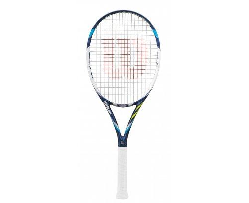 WILSON Juice 100L Adult Tennis Racquet (4-3/8)
