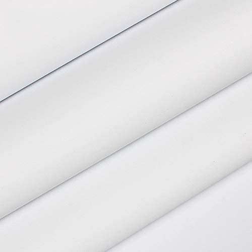 yazi 壁紙 リメイクシート 無地 剥がせる壁紙シール のり付き 補修 リフォームシート おしゃれウォールステッカー 防炎 防水 お部屋・キッチン・洗面所・家具 リフォームシール ホワイト