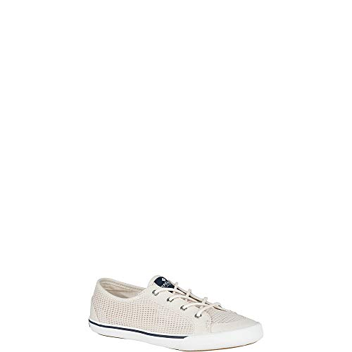 (Sperry Top-Sider Lounge Mesh Sneaker Women 10 Ivory)