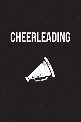 Cheerleading: Notebook - perfect sports gift for players and coaches with 120 blank, lined pages. por Like sports journals