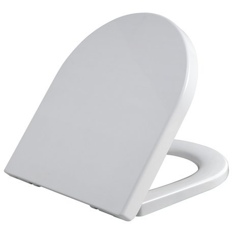 Infinity D Shape Soft Close Toilet Seat with Top Fix Hinges
