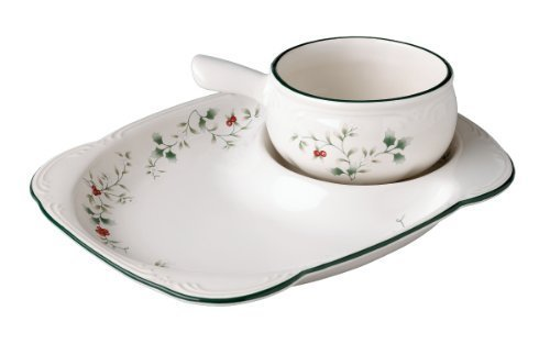 (Pfaltzgraff Winterberry Snack Set by Lifetime Brands)