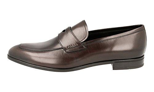 Prada Mens 2dc145 Dt7 F0003 Läder Loafers