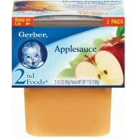 Gerber 2nd Foods Applesauce, 7 Ounce -- 8 per case. (Foods Applesauce)