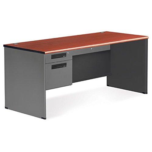 Computer Desk, Right, Cherry