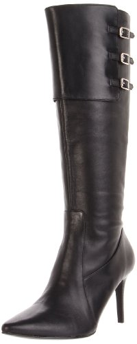 Lauren Ralph Lauren Women's Jennison Boot,Black,6 B US