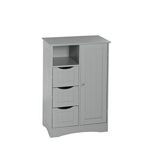 RiverRidge Ashland Collection - 1 Door, 3 Drawer Floor Cabinet - (1 Drawer Floor)