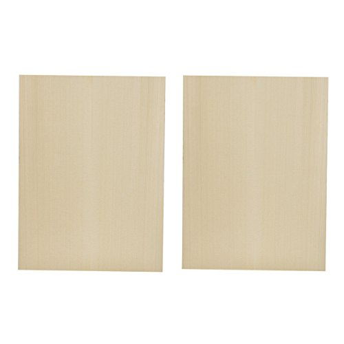 Kmise Ukulele Guitar Tonewood Soundboard Top for Luthier Diy Parts Solid Spruce Wood 300240mm 2 Pcs