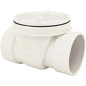 Oatey 43908 PVC Backwater Valve, 6-Inch - Pipe Fittings - Amazon com