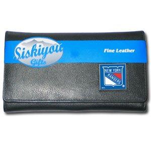 NHL New York Rangers Women's Leather Wallet
