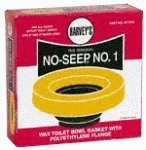 William H. Harvey 001005-24 Toilet Bowl Wax Ring with Flange by William H.Harvey Co.