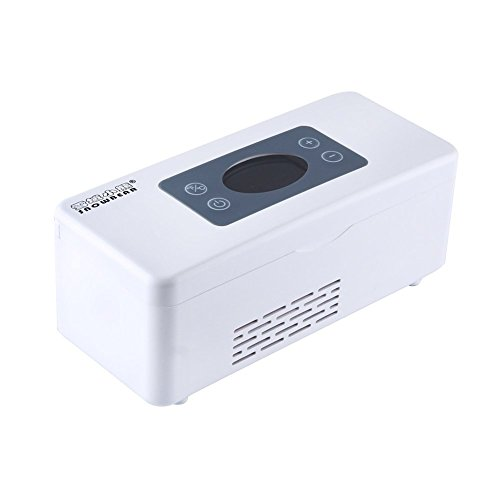 Snow Bear Portable Insulin Cooler 2~25°C Refrigerated Box Drug Reefer Car refrigerator with Car Charger