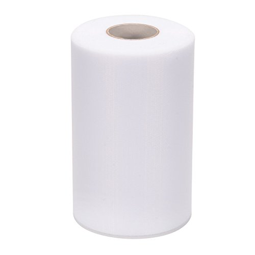 oll Spool 6x200Yards 600FT for Wedding Party Decoration, Party Supplies (Wedding Tulle Roll)