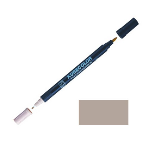 Zig-Kurecolor-Manga-Cartoonist-Fine-Brush-Dual-Tip-Marker-Warm-Grey-6