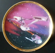 Star Trek THE DESTRUCTION OF THE RELIANT The Movies Collector's Plate - with COA (mc)