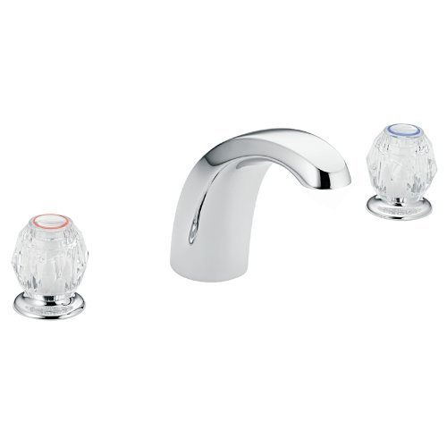 Moen 4902 Chateau Two-Handle Garden Tub Faucet, Chrome by (Chateau Two Handle Garden)