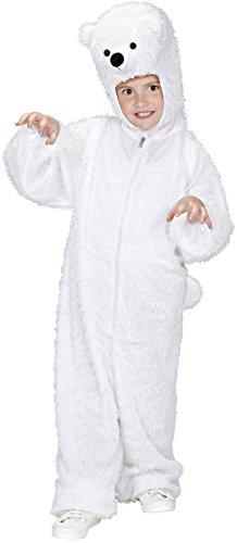 Widmann 9760k Polar Bear Children's Costume 113cm, Jumpsuit With Mask ()