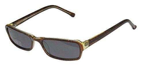 Ogi A3032 Mens/Womens Designer Full-rim 100% UVA & UVB Lenses Sunglasses/Sun Glasses (53-17-135, Brown Pattern / Light - Ogi Sunglasses