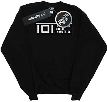 Absolute Cult Ready Player One Herren IOI Logo Sweatshirt Schwarz Small