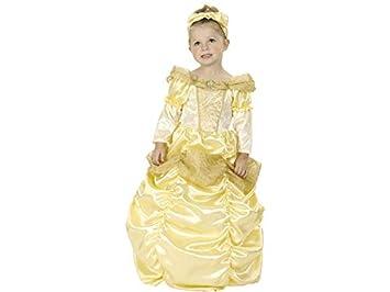 DISONIL Disfraz Princesa Bella Bebé Talla M: Amazon.es: Juguetes y ...