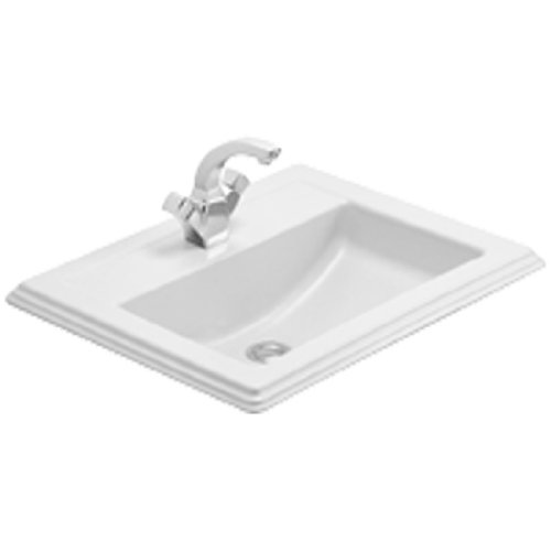 villeroy boch sinks 7102a1r1 v b hommage drop in washbasin 630 x 525 mm white alpin c buy. Black Bedroom Furniture Sets. Home Design Ideas