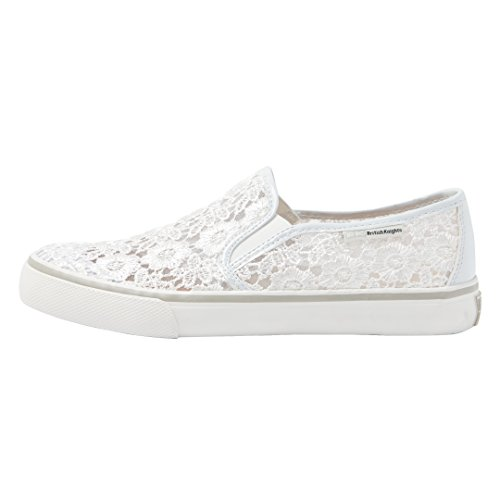 British Knights Cara Women's Low-Top Slip On White FeDaq