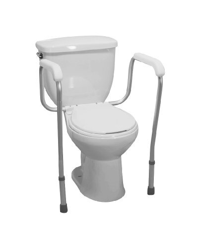 amazoncom drive medical toilet safety frame rail health personal care
