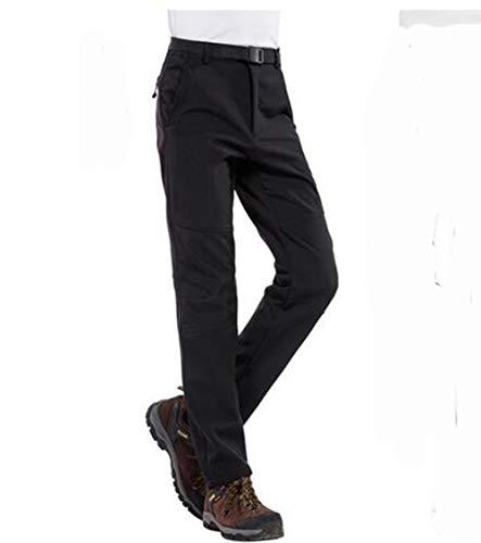 Pantalons De Doublé Homme Cayuan Respiration Polaire Imperméable homme Air Plein Ski Femmes Noir En Chaud Softshell Trekking Pantalon Randonnée IqZw8