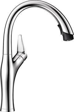 Blanco 442045 Artona Stainless Steel Pull-Down 1-Handle Bar 13.625'' H x 6.875'' D Finish