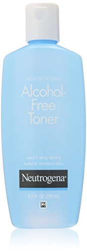 Neutrogena Alcohol-Free Toner, 8.5 Fluid Ounce (Pack of 3)