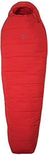 Fjallraven Unisex-Adult Skule Three Seasons Reg Sleeping Bag, Red, OneSize