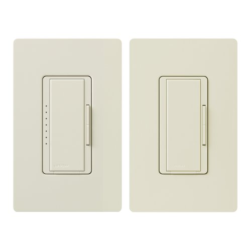Lutron MACL-153M-RHW-LA Maestro 150-Watt Multi-Location CFL/LED Digital Dimmer Kit