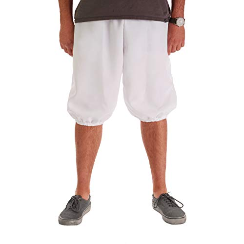 Largemouth Men's Knicker Pants White -