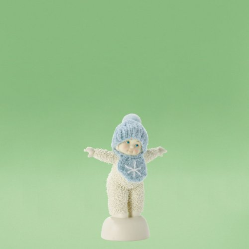Department 56 Snowbabies Classics Look at Me Baby Boy Figurine, 4.25 inch