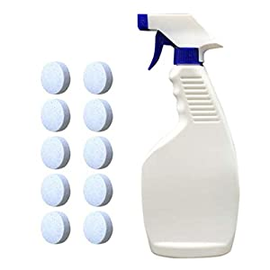 Witspace Car Detailer Spray, 10PCS Auto Multifunctional Effervescent with Watering Can for Car Cleaning
