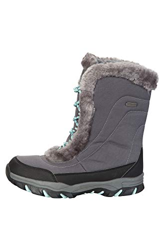 Grigio Stivali Ohio Impermeabili Invernali Caldi Neve Ideali Donna e da Doposci Warehouse e Mountain per fxpH66