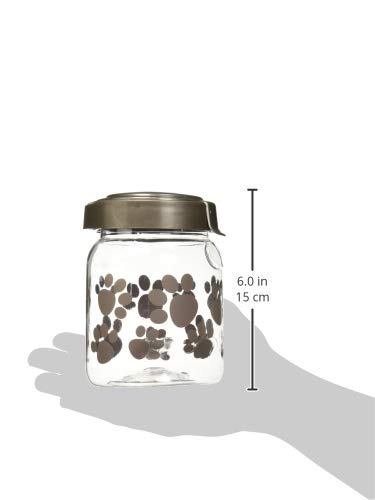 Snapware Airtight Food Storage Pet Treat Canister, Small, Pack of 1