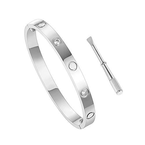 Objective 4mm Bracelet Bracelet 585 Gold White Gold Wrist Jewellery Endless Elastic Ladies Modern Techniques Jewelry & Watches