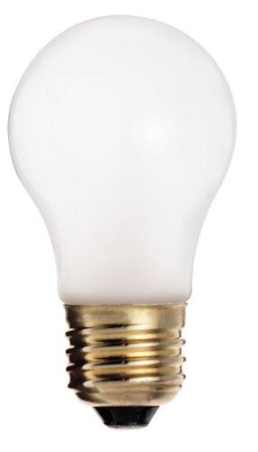 A15 Light Bulb 130v (Satco S4880 130V Shatterproof Medium Base 25-Watt A15 Light Bulb, Frosted)