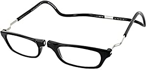 Clic XXL Magnetic Front connection Reading Glasses with Free Micro-Fiber Carrying Case