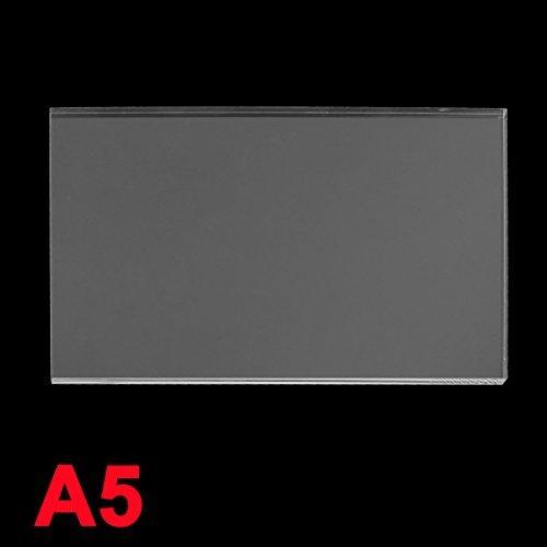 DealMux 6 mm clear Plastic Acrylic Plexiglass Perspex Sheet A5 Size 148 mmx210 mm (Clear Acrylic Thermostat)