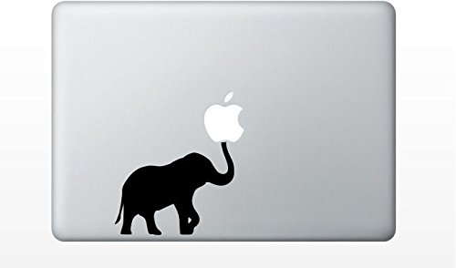 Macbook elephant decal sticker pro product image