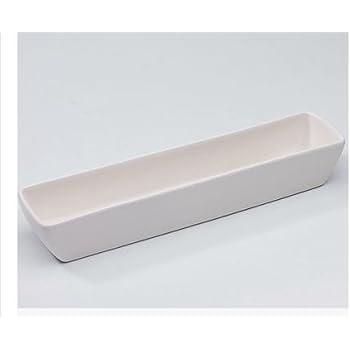 Amazon Com 11 Quot X 3 Quot White Ceramic Small Slim Long