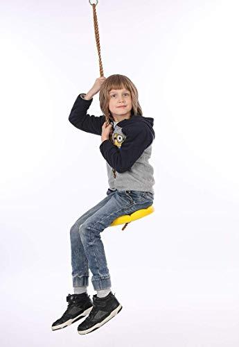 Outdoor Indoor Climbing Hanging Plastic Tray Achthoekige Petal Disc Swing voor kinderen