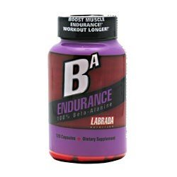 BA Endurance, augmenter l'endurance musculaire, 120 Capsules, De Labrada