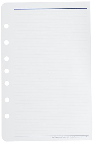 Franklin Covey Lined Organizer Pages for 2009, 5.5 x 8.5 Inches, 50 Sheets per Pack (26888)