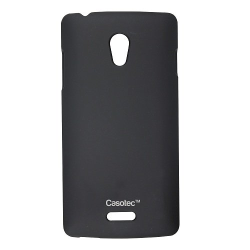 finest selection daec9 d0f3a Casotec Ultra Slim Hard Shell Back Case Cover for Oppo R1001 Joy - Black