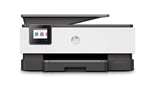 HP OfficeJet Pro 8035 All-in-One Wireless Printer – Includes 8 Months of Ink Delivered to Your Door, Plus Smart Tasks for Home Office Productivity – Basalt (5LJ23A)